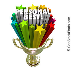 Personal Best Winner Trophy Pride in Accomplishment - The...