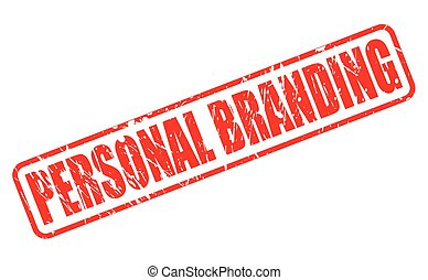 PERSONAL BRANDING red stamp text
