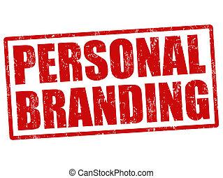 Personal branding stamp