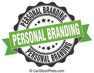 personal, branding, stamp., signo., sello