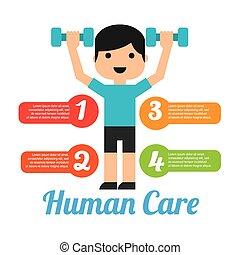 personal care design, vector illustration eps10 graphic