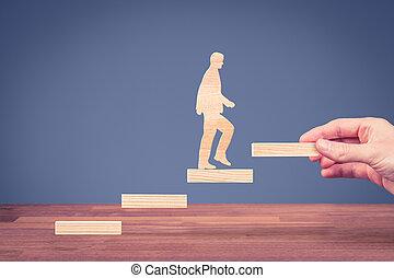 personal, carrera, desarrollo