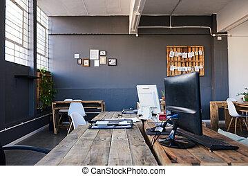 personal, contemporáneo, no, empresa / negocio, interior, lugar de trabajo