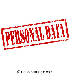 Personal Data-stamp