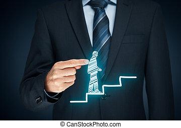 personal, desarrollo, carrera