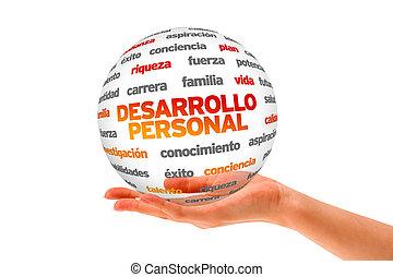 personal, desarrollo, palabra, esfera, (in, spanish)