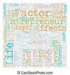 personal development entrepreneur business text background wordcloud concept