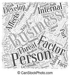 personal development entrepreneur business Word Cloud Concept