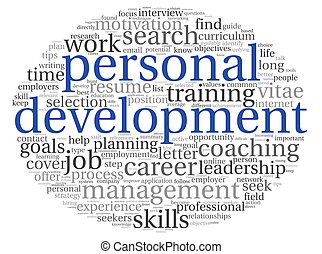 Personal development in tag cloud - Personal development...