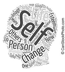 Personal Development Starter Guide text background wordcloud concept
