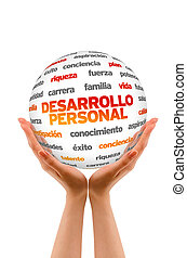 Personal Development Word Sphere (In Spanish)