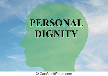 Personal Dignity concept