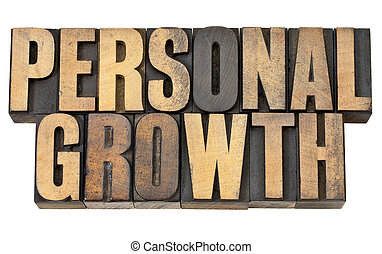 personal growth in wood type