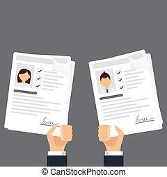 Personal info data icon vector illustration, flat cartoon ...