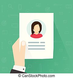 Personal info data icon vector illustration isolated, flat ...