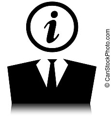 personal information clipart icon customer computer clip background attention illustrations drawings concept maxkabakov canstockphoto