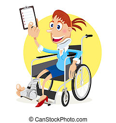 Illustration Of People Got Accident And Claims For Their Personal Injury