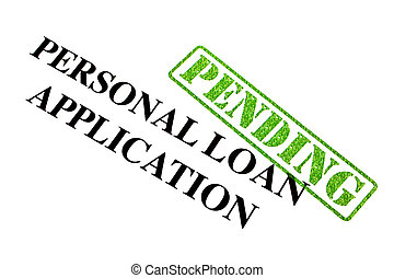 Personal Loan Application is PENDING.