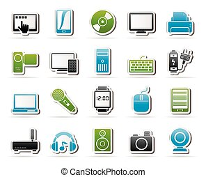 personal multimedia icons