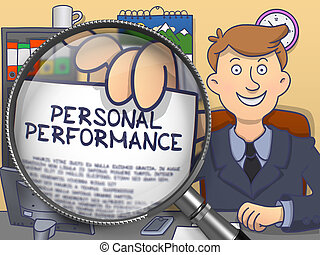 Personal Performance through Lens. Doodle Style.