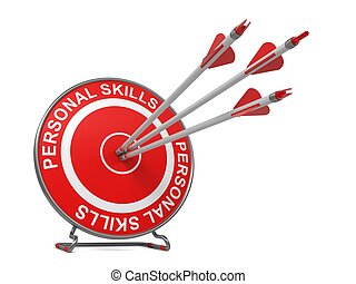 Personal Skills. Business Concept. - Personal Skills - ...