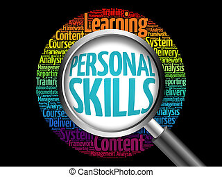 Personal Skills word cloud