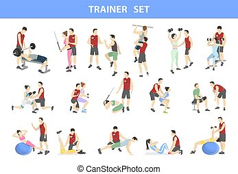 Personal trainer set