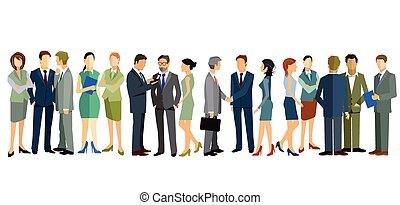 Personal Zusammenkunft