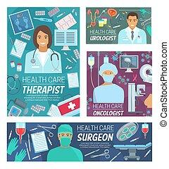 personale, medico, sanità, apparecchiatura, clinica, dottori
