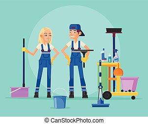 personale pulizia