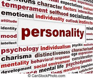 personalidade, interação, social