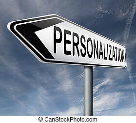 personalization personal individual content or data...