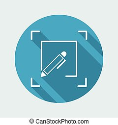 Personalized services flat icon