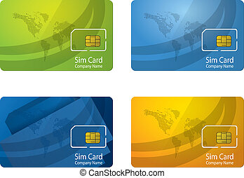 Personalized sim card