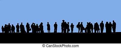 personas línea