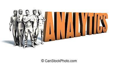 persone affari, analytics, arte