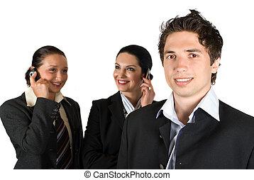 persone affari, gruppo