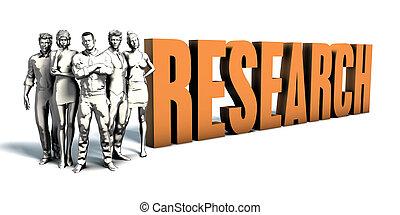 persone affari, ricerca, arte