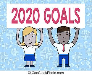 persone, asse, nuovo, 2020, concetto, testo, manifesto,...