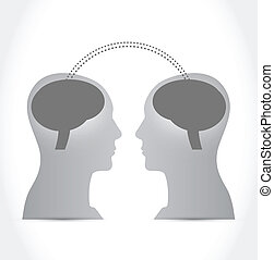 persone, comunicazione, cervello, intelligenza