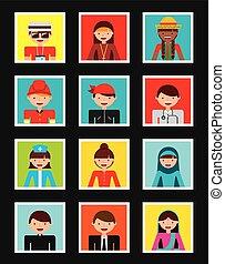 persone, diversità, disegno