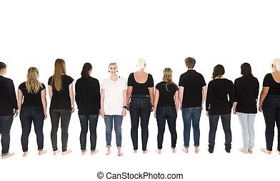 persone, fila