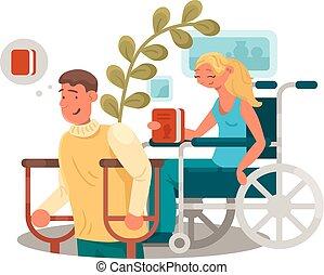 persone, gli utenti disabili