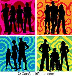 persone, gruppi