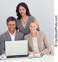 persone, lavorativo, ufficio affari