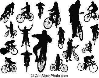 persone, silhouette, diciotto