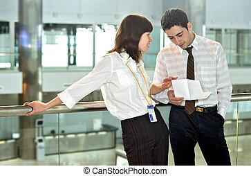 persone ufficio, affari