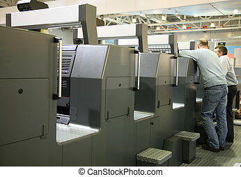 personel, drukowany, służba, wyposażenie