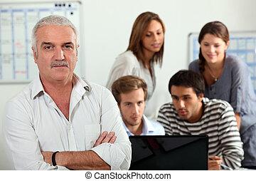 personen, computer, groep