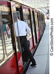 personenzug, eintragen